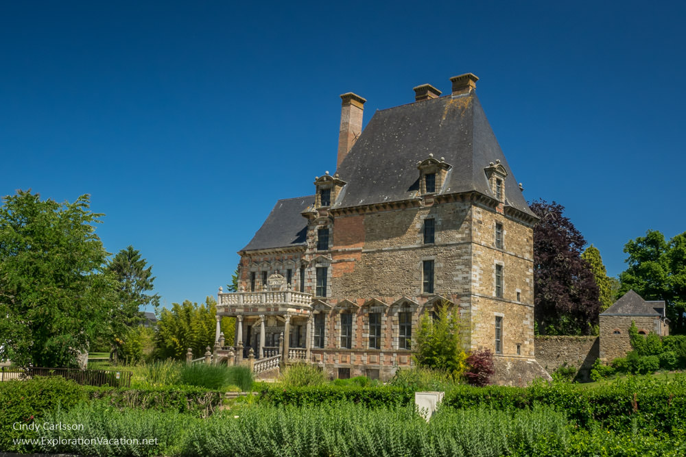 manor in a rural village in Normandy, France - ExplorationVacation.net