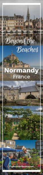 five images of Normandy France