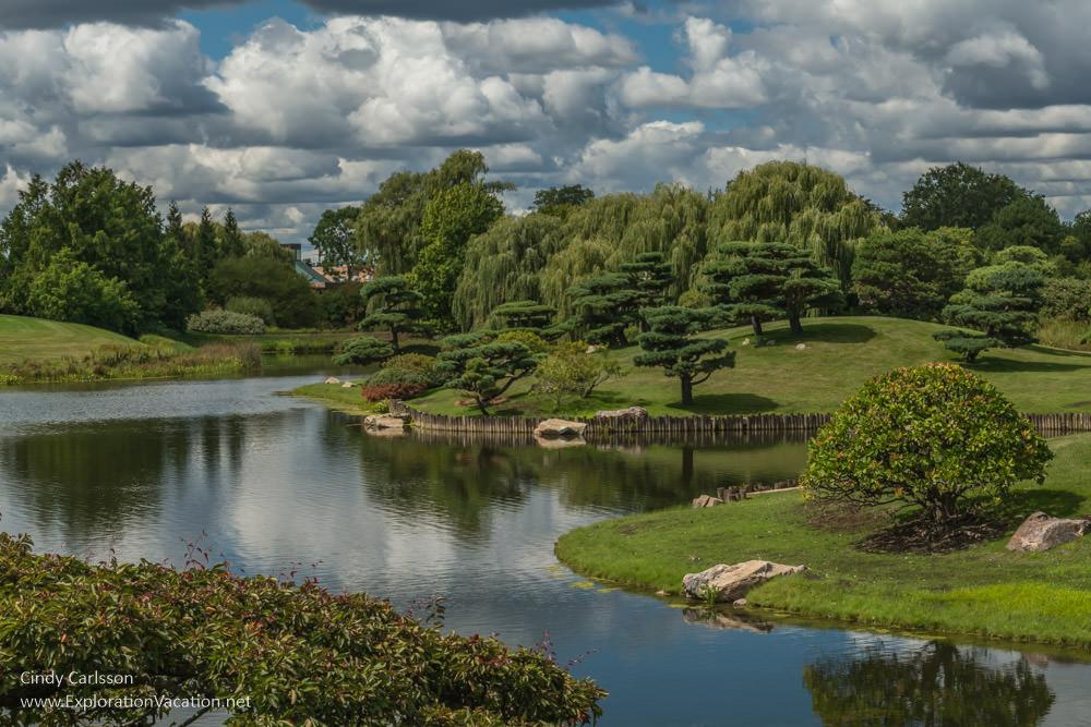 Japanese Garden at the Chicago Botanic Garden - ExplorationVacation.net