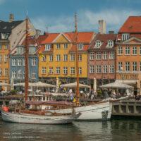 Ships in the harbor at Nyhavn Copenhagen - ExplorationVacation