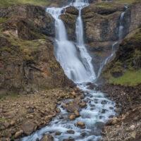 tall waterfall