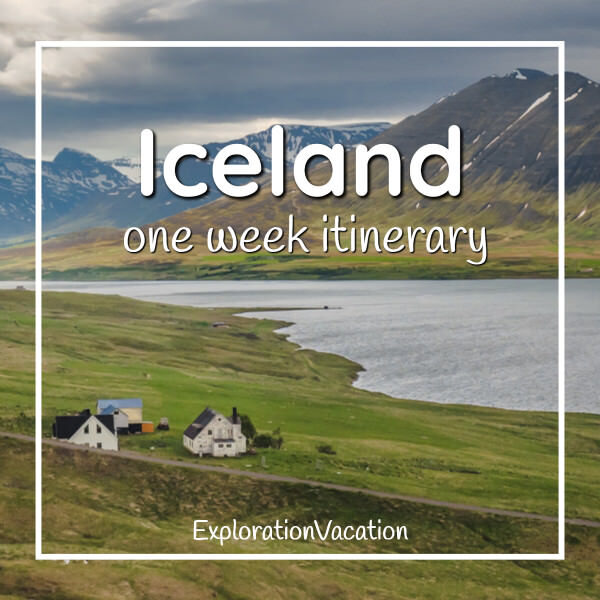 Link to Iceland one week itinerary