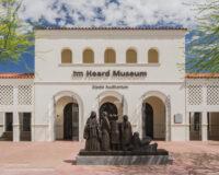 Entrance to the Heard Museum in Phoenix Arizona