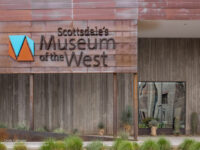 Sign outside Western Spirit, Scottsdale's Museum of the West