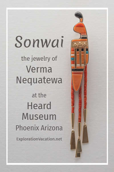 Nequatewa jewelry with text
