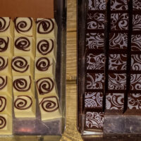 decorated chocolate candies