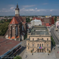 View of Opava from above