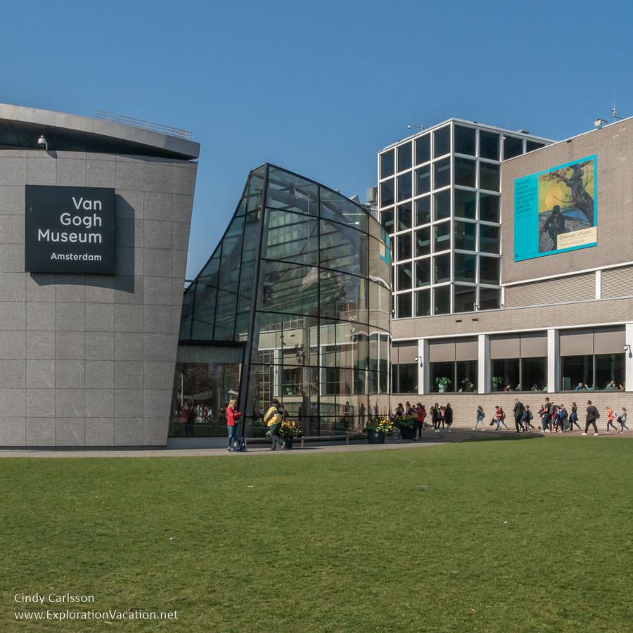 Van Gogh Museum exterior
