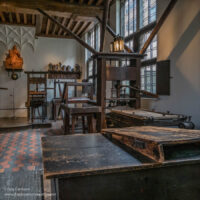400 year old printing presses
