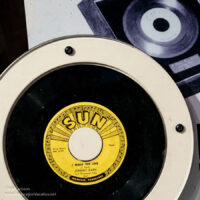Sun record of I walk the line by Johnny Cash