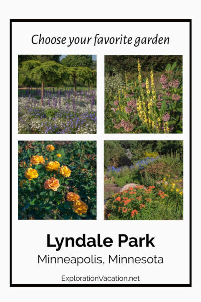 "selection of flowers with text ""Lyndale Park Gardens"""