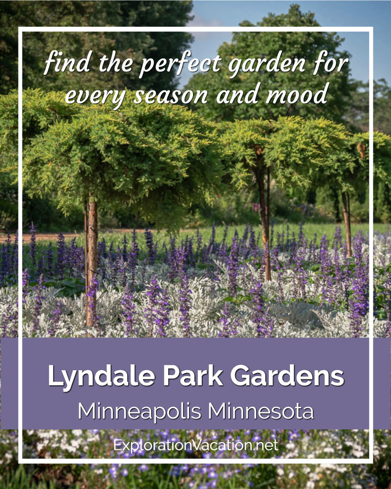 "purple and white garden with ""Lyndale Park Garden"" text"