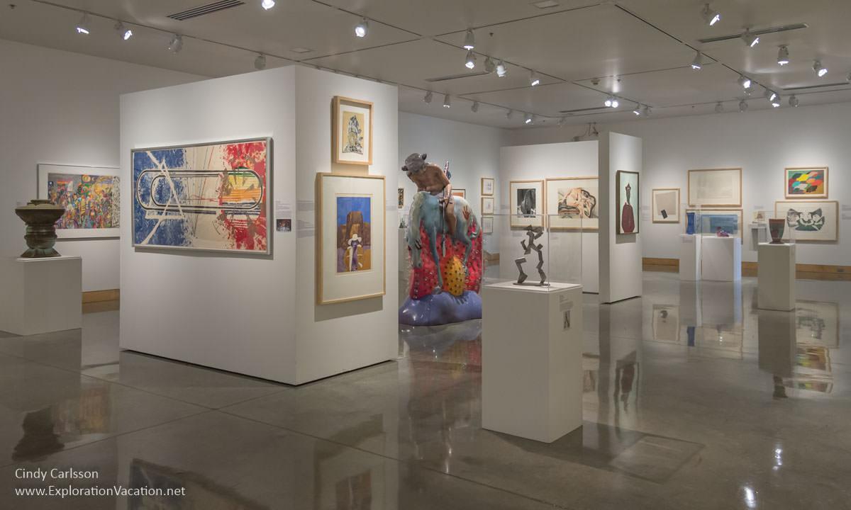 gallery in an art museum