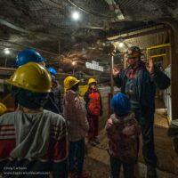 Inside the historic Sudan Underground Mine