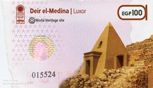 ticket to Deir el-Medina in Egypt