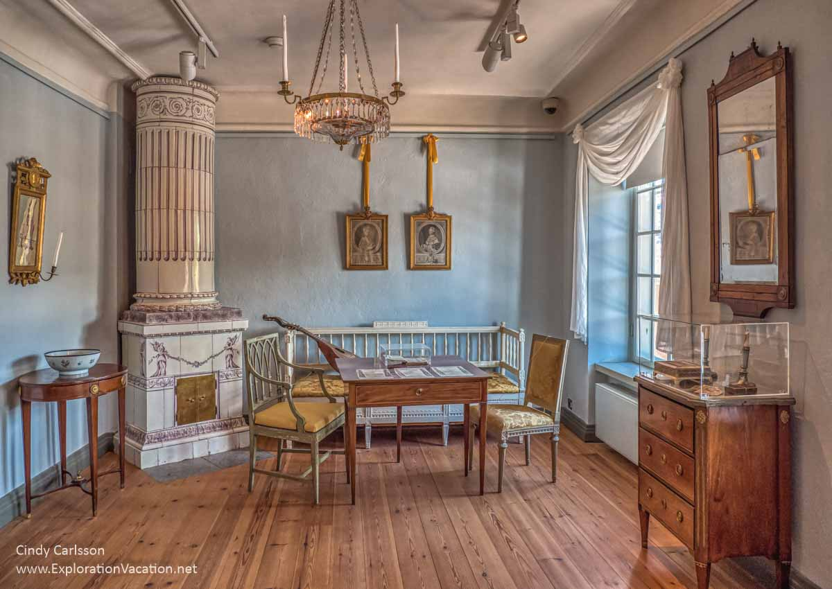 historic room in a family home