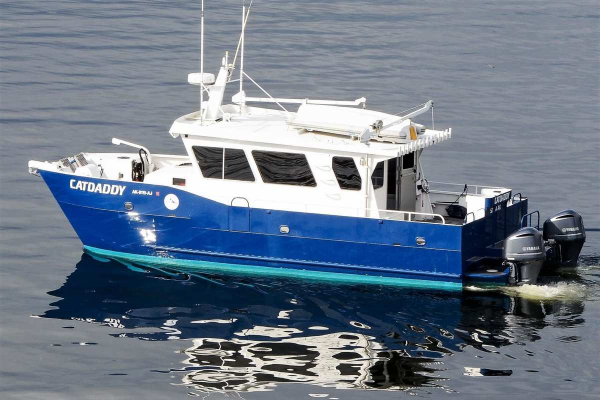 A Whale's Song Expedition's boat Cat Daddy in Sitka Alaska